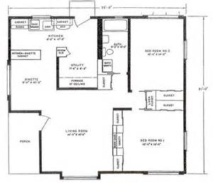 lustron floor plan bluff view house