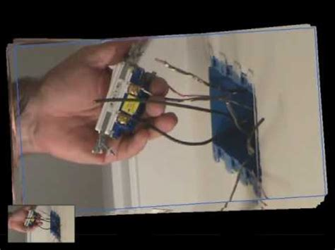 how to install a light switch connecting a light switch