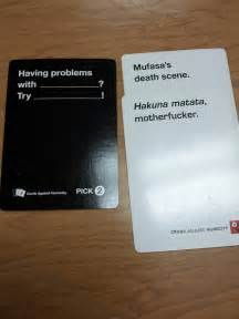 44 cards against humanity best combos that prove this is