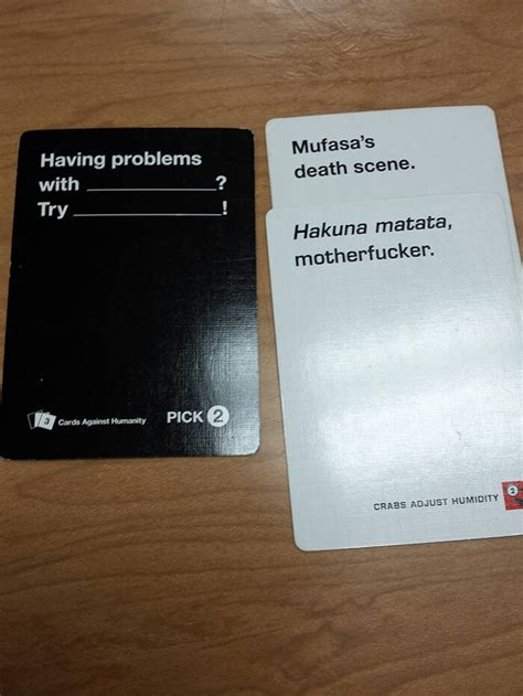 Cards Against Humanity Birthday 44 Cards Against Humanity Best Combos That Prove This Game