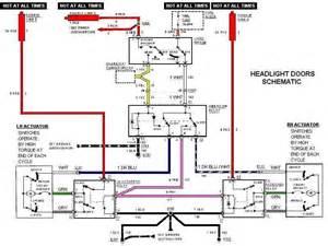 camaro headlite isolation relay wire schematic