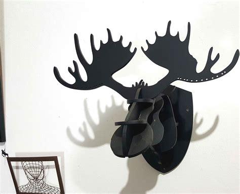 Acrylic Dinding acrylic hiasan dinding kepala rusa tukangprint