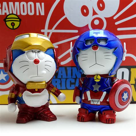 Miniatur Doraemon Capten Amerika fer japonais promotion achetez des fer japonais promotionnels sur aliexpress alibaba