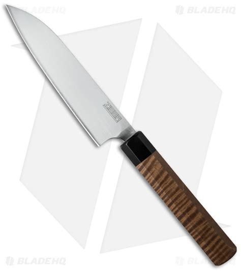 Japanese Style Kitchen Knives by Michael Zieba Custom Japanese Style Kitchen Knife Maple 6