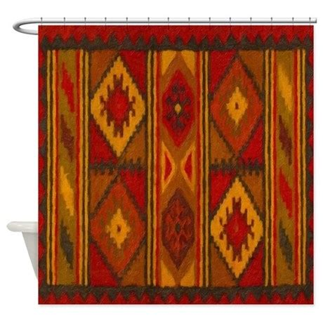 indian shower curtains indian blanket 5 shower curtain by aaanativearts