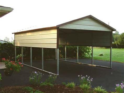 Wholesale Metal Carports 12 X 21 X 6 Boxed Eave Eco Friendly Steel Carport