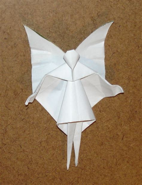 How To Make Paper Fairies - tree origami by pandaraoke on deviantart