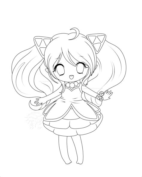 chibi princess coloring pages chibi princess coloring pages sketch coloring page