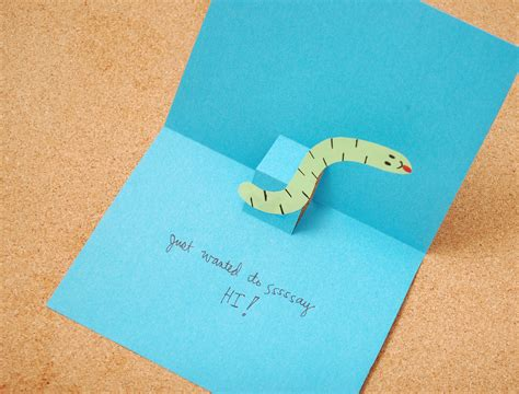 how to make a card for a how to make a 3d card 6 steps with pictures wikihow