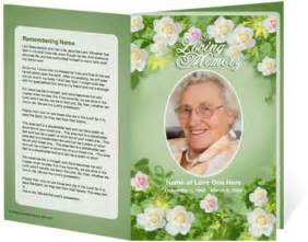 memorial bulletin template downloadable funeral bulletin covers of a funeral