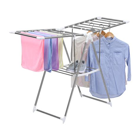 cloth laundry folding collapsible clothes drying laundry rack dryer