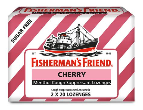 fisherman s extra strong lozenges for cough sore throat fishermans