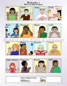 Baby sign language chart teach your baby to sign teaching babies