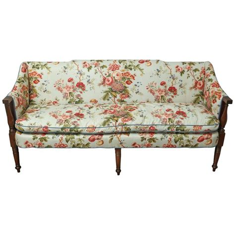 english settee english regency settee for sale at 1stdibs