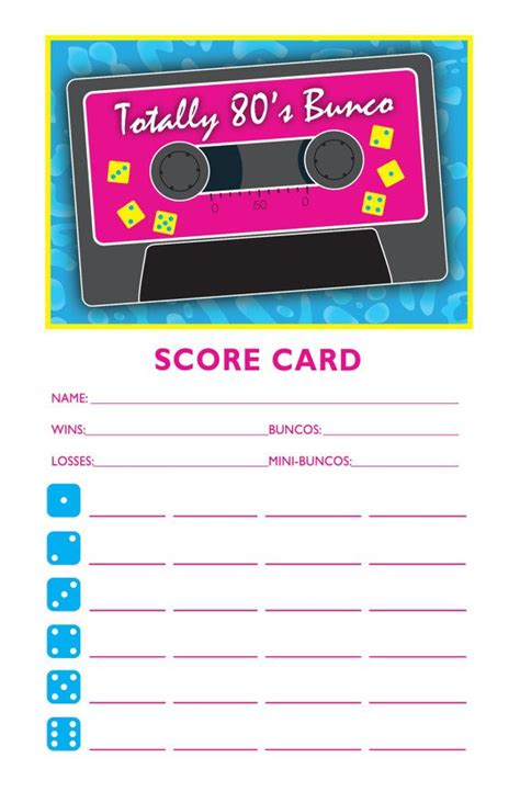 scoreboard for card 10 images about on bunco