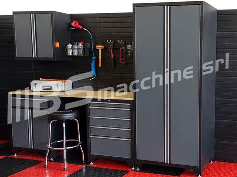 armadi per garage armadio banco da lavoro cassettiera portautensili attrezzi