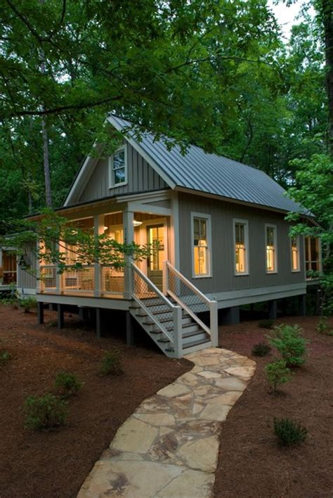 tiny house plans with porches a 1 091 sq ft tiny house with two porches a stunning