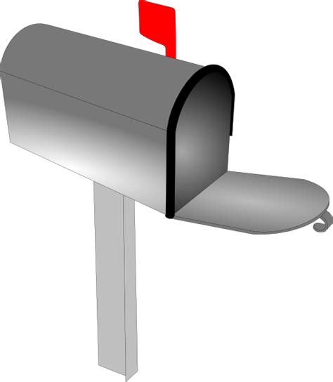 Mailbox Clipart empty mailbox clip at clker vector clip royalty free domain