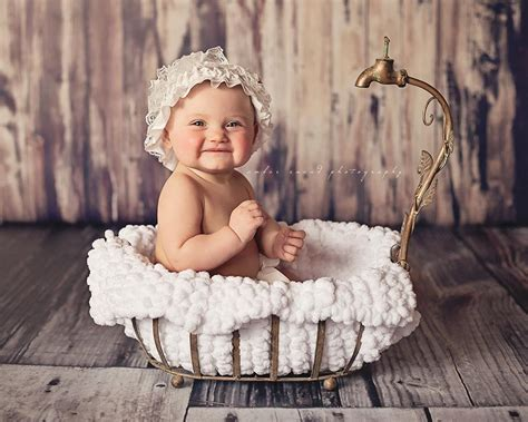Baby Bathtub Photo Prop by Snead Photography Lace Inspiration Photography Prop Junkie Photographer Community