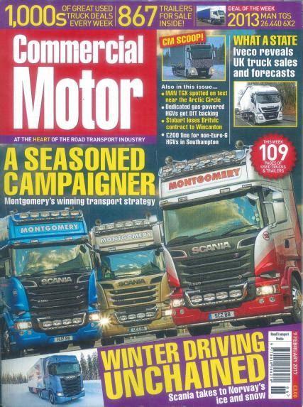 motor magazine uk commercial motor magazine subscription