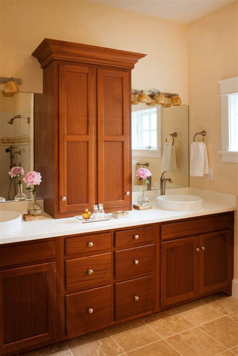 Victorian Home Design Ideas by Custom Bathroom Cabinets Bathroom Cabinetry