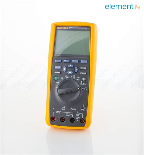 Multimeter Fluke 287 fluke 287 eur fluke electronics logging multimeter 50000 count true rms auto manual range