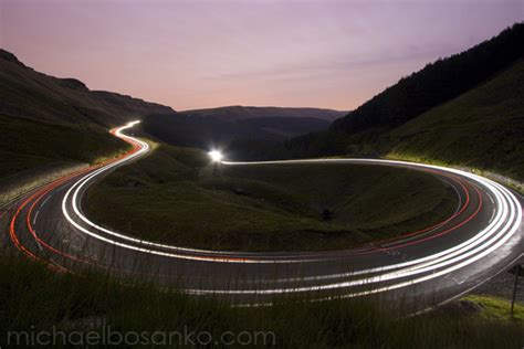 Painting With Light night trails photo michael bosanko