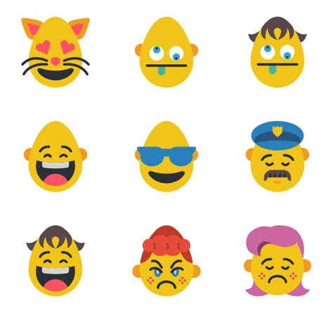 emoji png pack 38 emoji icon packs vector icon packs svg psd png