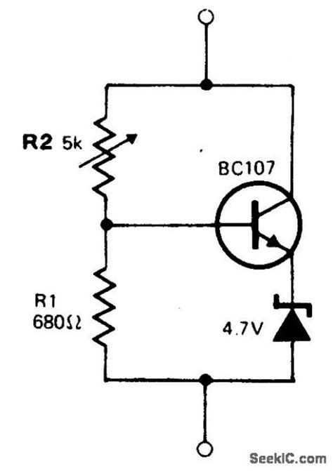 zener diode voltage divider index 324 basic circuit circuit diagram seekic