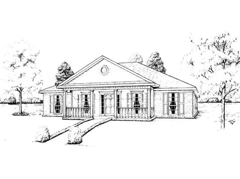 easely greek revival ranch home plan 023d 0018 house plans easely greek revival ranch home plan 023d 0018 house