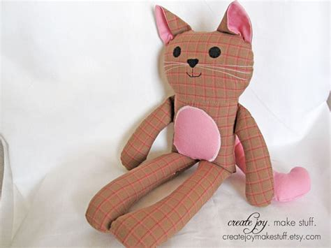 cat kitten pdf sewing pattern tutorial from cat doll sewing pattern tutorial pdf by createjoymakestuff