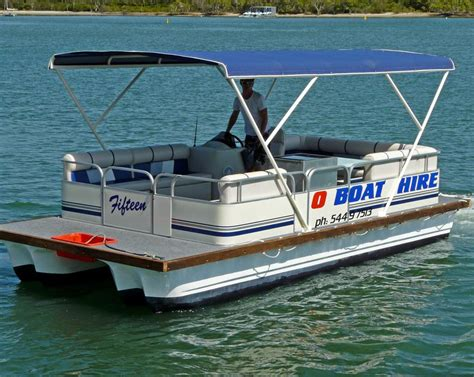luxury pontoon boat hire noosa o boat hire in noosaville qld boat charters truelocal