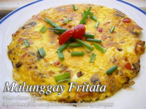 printable pinoy recipes malunggay fritata panlasang pinoy meat recipes
