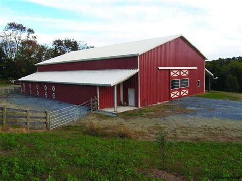 Metal Barn House Kits by Agricultural Steel Buildings Metal Farm Buildings Pole