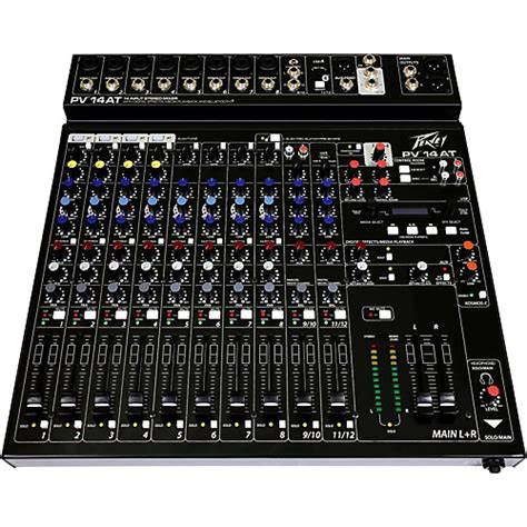 Mixer Peavey Pv 14 Usb peavey pv 14 at mixer with autotune musician s friend