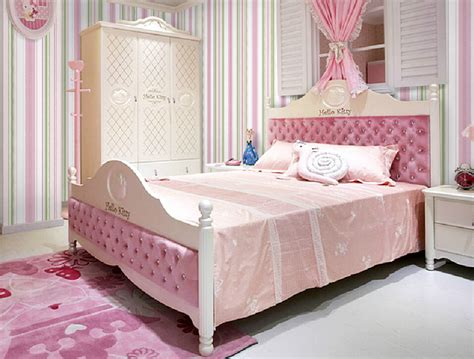 girls bedroom wallpaper girls bedroom wallpaper bed and wardrobe