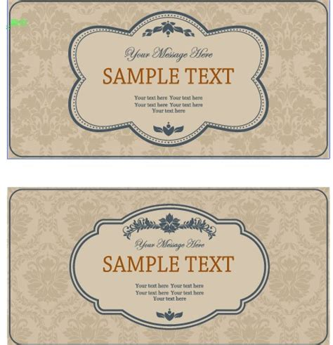 ornate vintage template background vector 04 over vintage frame with ornate background vector 04 free free