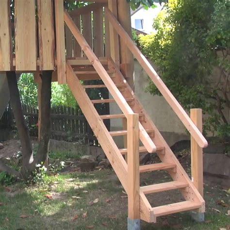 Treppe Aus Holz Selber Bauen by Holztreppe Au 223 En Selber Bauen Swalif
