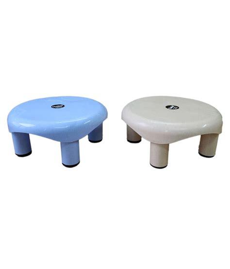 small plastic stool for bathroom chetan 2pc bathroom plastic stool buy chetan 2pc bathroom