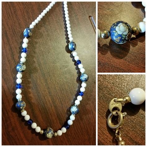 japan japanese style bead necklace from christine s