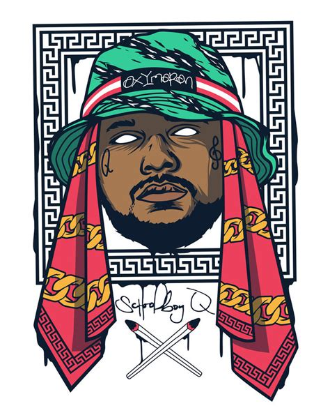 Schoolboy Q Drawing by Schoolboy Q By Bokula On Deviantart
