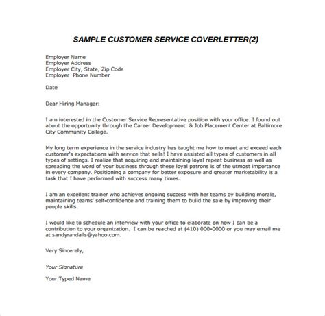 8 Email Cover Letter Templates Free Sle Exle Format Download Free Premium Templates Customer Service Email Templates