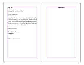 Word Template For Ebook by Best Photos Of Book Writing Template For Word Writing