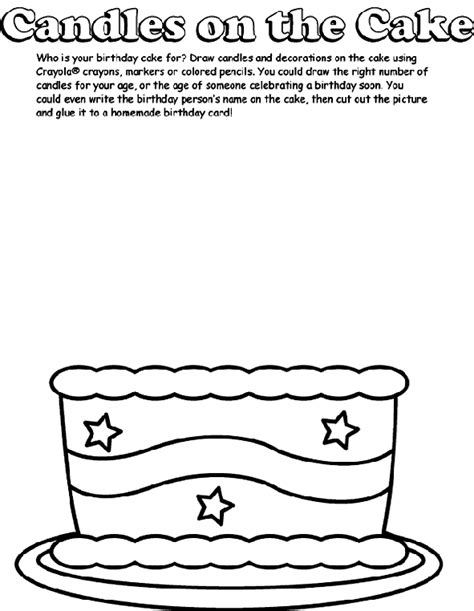 coloring page birthday cake no candles birthday cake no candles coloring page coloring pages