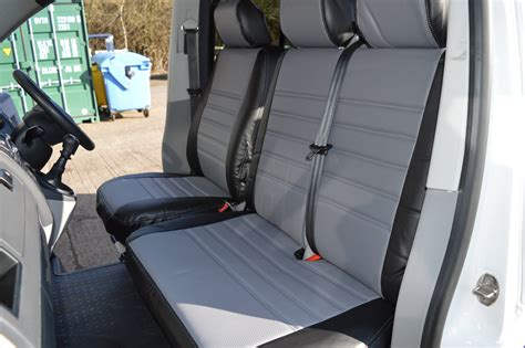 upholstery covering t5 seat covers grey vee dub transporters