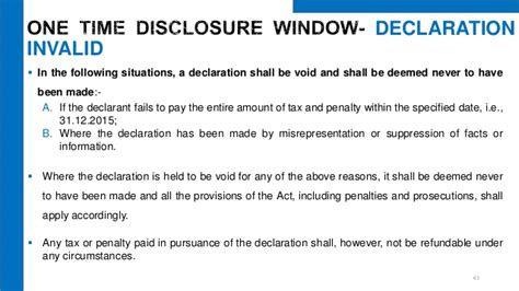 section 61 of income tax act undisclosed foreign income and assets and imposition of