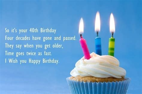 Happy 40th Birthday Wishes 160 40th Birthday Wishes Best Quotes Messages Hd Images