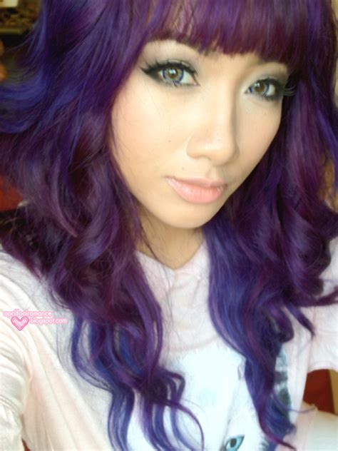purple hair ninafashionlife purplehair images reverse search
