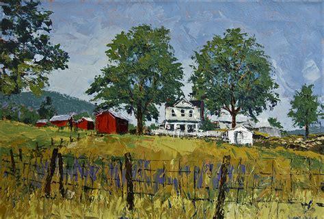 virginia highlands farm painting by muzyka