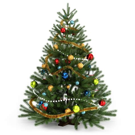 christmas tree free 3d model max rockthe3d